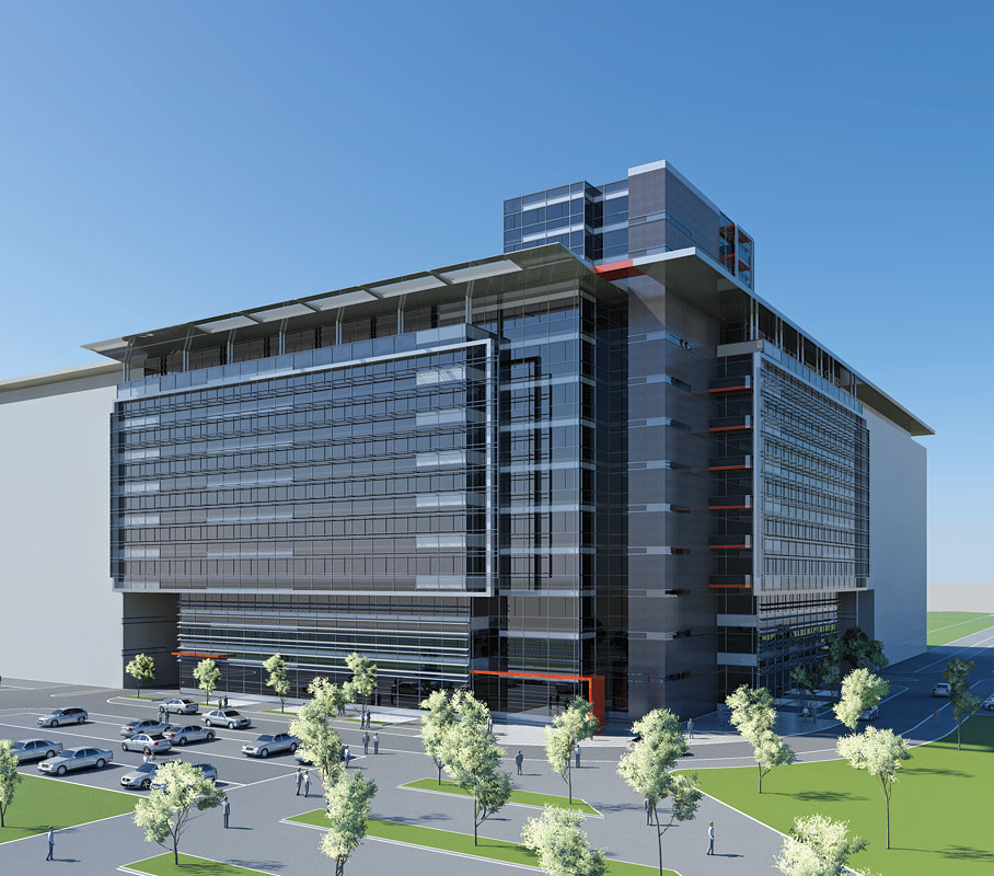 Office Building in Block 11a in Belgrade Design Competition ...
